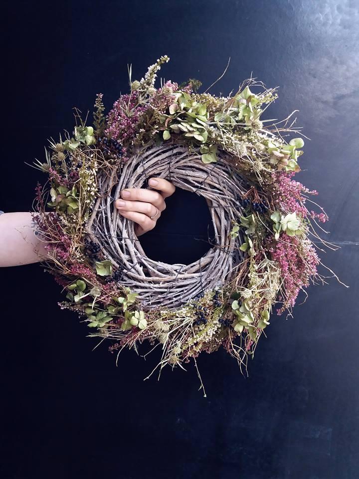 Podzimní věncování